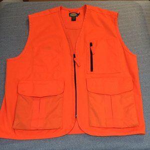Cabela's Blaze Orange hunting vest size L large